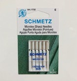 Schmetz Schmetz Microtex 5pk sz8/60