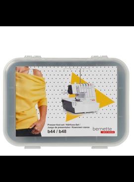 Bernette Serger Presser Feet 6pc Kit (b44/48)