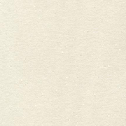 Robert Kaufman Flannel Solid Natural