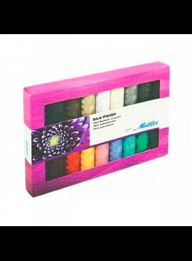 Brewer Mettler Silk-Finish Cotton Thread Set (18 spool)