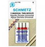 Schmetz Schmetz Universal Twin Needles Assorted Sizes