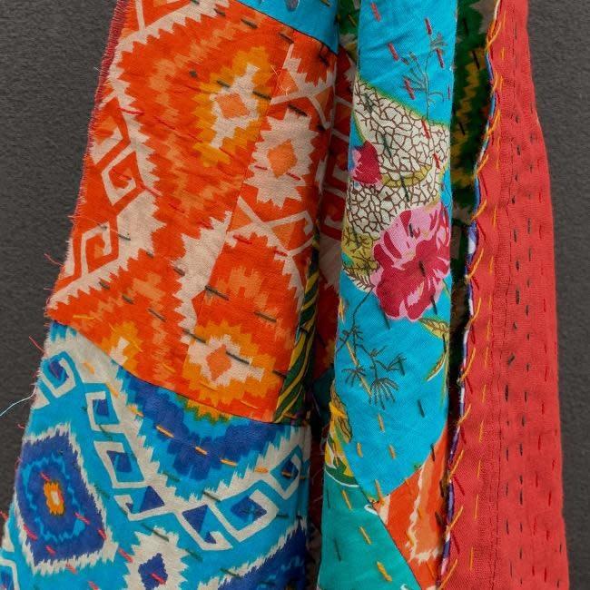 Windham Fabrics Kantha by Whistler Studios Patchwork