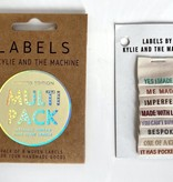 """Kylie and the Machine Kylie and the Machine Labels Sewing Tags """"MULTI"""""""