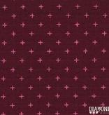 Diamond Textiles Manchester Plum Pink Pluses