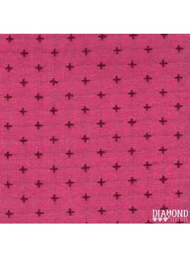 Diamond Textiles Manchester Pink Plum Pluses