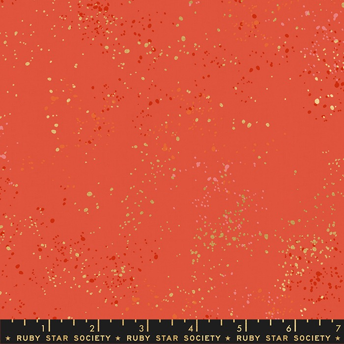 Ruby Star Society Speckled by Rashida Coleman Hale for Ruby Star Metallic Festive