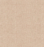 Cotton + Steel Along the Fields by Cotton + Steel  Haystack Summer Peach Canvas