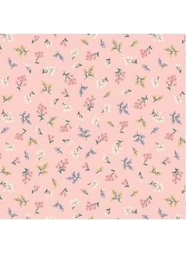 Rifle Paper Co Strawberry Fields by Rifle Paper Co. Petites Fleurs Blush