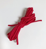 "EE Schenck 1/6"" Banded Stretch Elastic Red (5yd Bundle)"