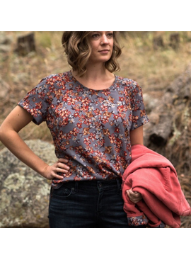 Allie Olson Coram Top & Dress Pattern by Allie Olson