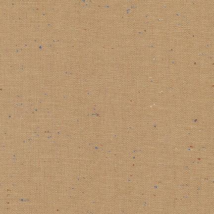 Robert Kaufman Essex Speckle Yarn Dyed Mocha