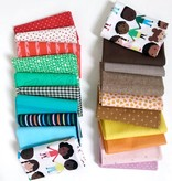 Modern Domestic's 20 Piece Fat Quarter Bundle - See Us, Hear Us, Love Us.