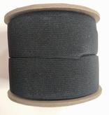 "Conrad Jarvis Black Heavy Duty Knit Elastic 1 1/2"""