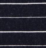 Pickering International Bamboo / Organic Cotton Striped Pique Midnight Blue 9oz