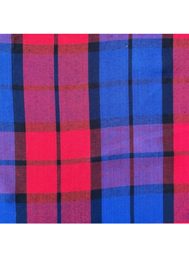 Textile Creations Rayon Cambridge Plaid Red/Blue
