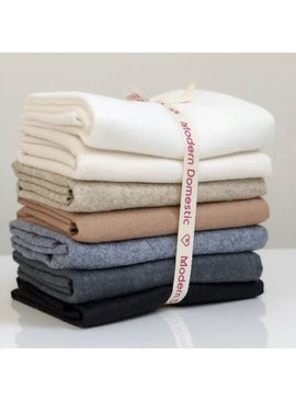 National Nonwovens Wool Felt Fat Quarter Bundle  FQ (7 Piece) - Neutrals