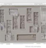 Bernette Cover / Chainstitch Presser Feet 8pc Kit (b42/48)