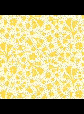 Squeeze by Dana Willard Flowers Yellow