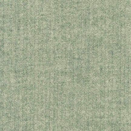 Robert Kaufman Shetland Flannel Basil