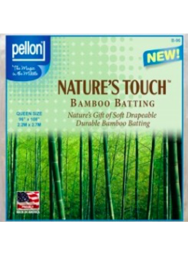"""Pellon Pellon Nature's Touch 50% Bamboo / 50% Cotton Batting Queen 90"""" x 108"""" LOCAL PICKUP ONLY"""