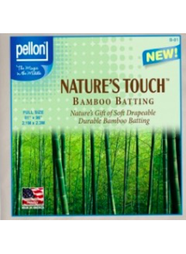 """Pellon Pellon Nature's Touch 50% Bamboo / 50% Cotton Batting Twin  81"""" x 96"""" LOCAL PICKUP ONLY"""