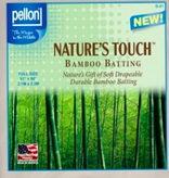 """Pellon Pellon Nature's Touch 50% Bamboo / 50% Cotton Batting Full 81"""" x 96"""" LOCAL PICKUP ONLY"""