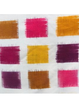 Diamond Textiles Heavyweight Ikat Gold / Wine Multi