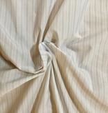 S. Rimmon & Co. Italian White Tone on Tone Striped Lining