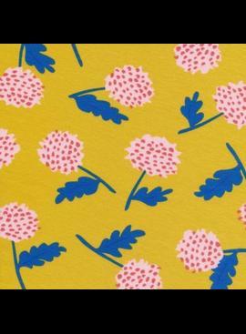 Cloud 9 Cloud 9 Organic Cotton Knit Yellow Thistles