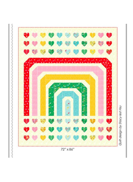 Moda Over the Rainbow Quilt Pattern by Stacy Iest Hsu