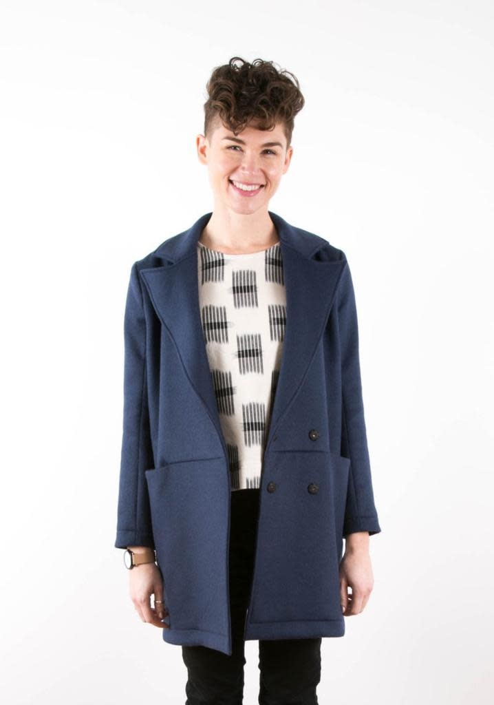 Grainline Patterns Yates Coat by Grainline Pattern
