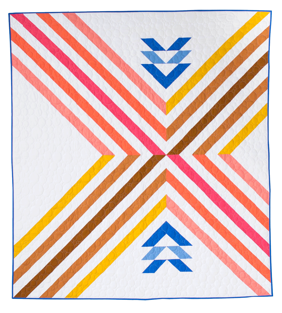 Then Came June Then Came June: Stripe Crossing Quilt