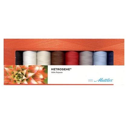 Brewer Mettler Metrosene Thread Set (8 spool)