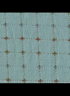 Diamond Textiles Nikko Slate Blue Pluses