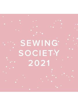 Modern Domestic CLUB FULL 2021 Modern Domestic Sewing Society Virtual Annual Membership, FIRST SATURDAYS, monthly at 10:30am PST