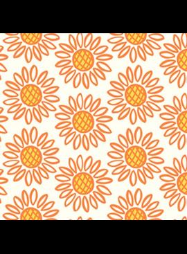 Squeeze by Dana Willard Sunflowers Orange