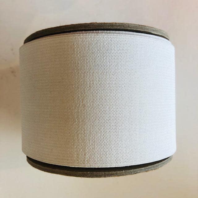 "Dritz White Knit Elastic 3"" (per yard)"