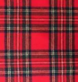 Stylecrest Fabrics Highland Plaid Wool Shirting Red
