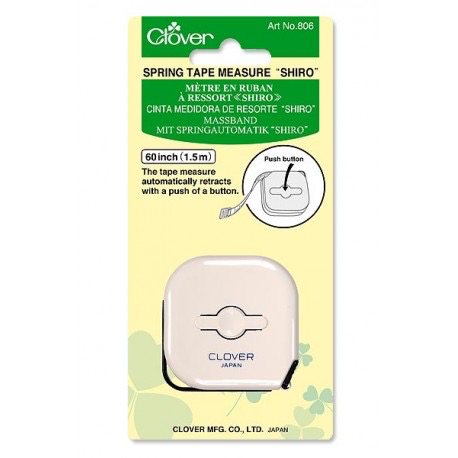 Clover Clover Shiro Spring Tape Measure