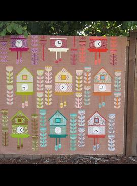 Elizabeth Hartman SALE Cuckoo Quilt Pattern by Elizabeth Hartman