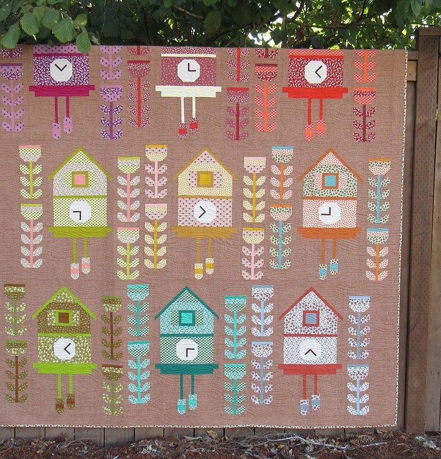 Elizabeth Hartman Cuckoo Quilt Pattern by Elizabeth Hartman