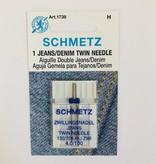 Schmetz Schmetz Jean Twin Needle 100/4.0