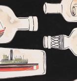 Alexander Henry Message in a Bottle by Alexander Henry Black