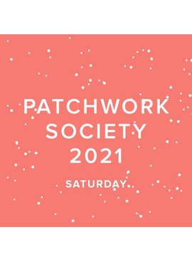Modern Domestic CLUB FULL 2021 Modern Domestic Patchwork Society Virtual Annual Membership, SECOND SATURDAY, monthly 10:00-11AM PST