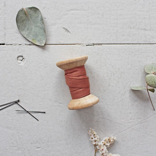 Atelier Brunette Bias Tape Crepe Chestnut
