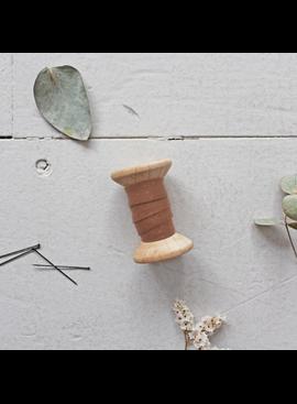 Atelier Brunette Bias Tape Dobby Chestnut