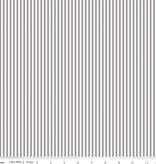 """Riley Blake 1/8"""" Stripe Gray by Riley Blake"""