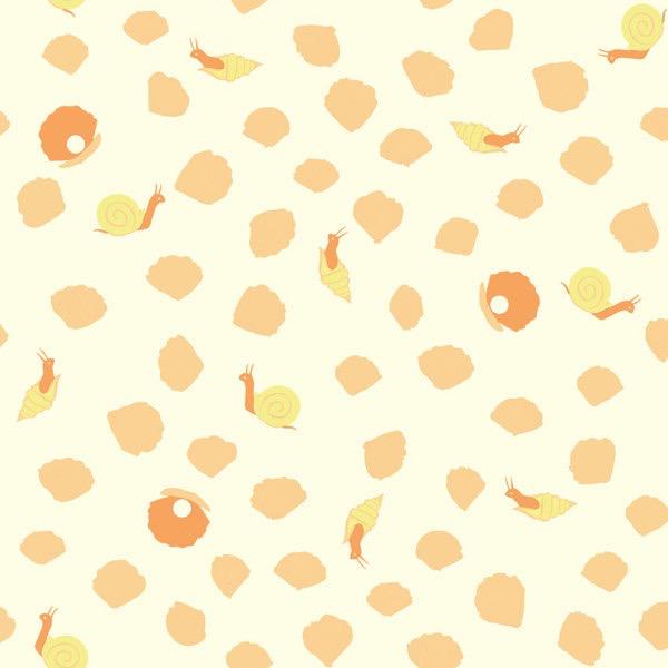 Birch Fabrics Organic Poplin Sea Snails