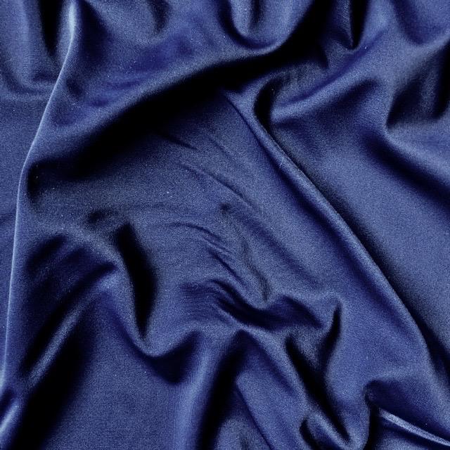 Fabric Mart Navy Solid Swimwear