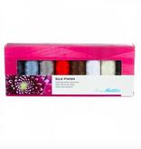 Brewer Mettler Silk-Finish Cotton Thread Set (8 spool)